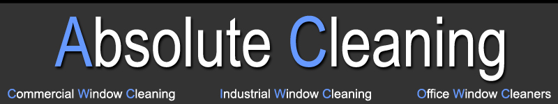 Absolute Cleaning, Commercial Window Cleaners, Industrial Window Cleaners, Office Window Cleaner